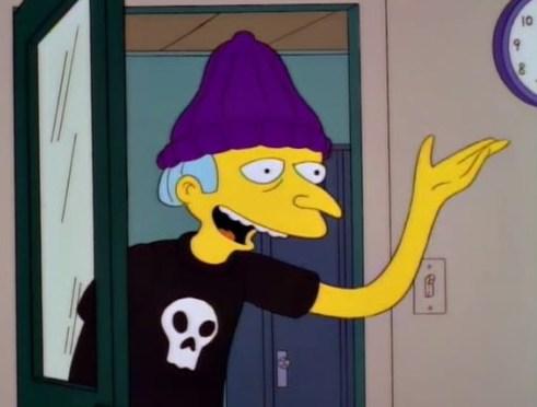 Signor Burns giovane