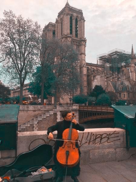 Gautier Capuçon a Notre Dame