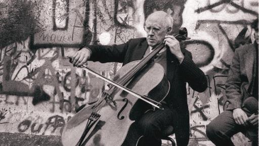 Lo storico concerto di Mstislav Rostropovich nel 1989